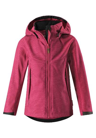 Barn softshell jacka Mingan Rose