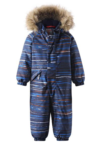 Toddlers' winter snowsuit Lappi Navy