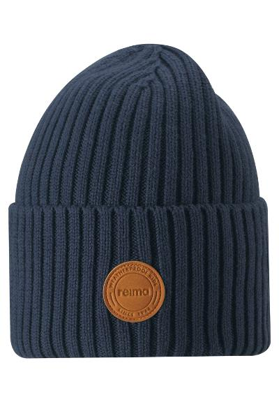 Kids' cotton beanie Hattara Navy