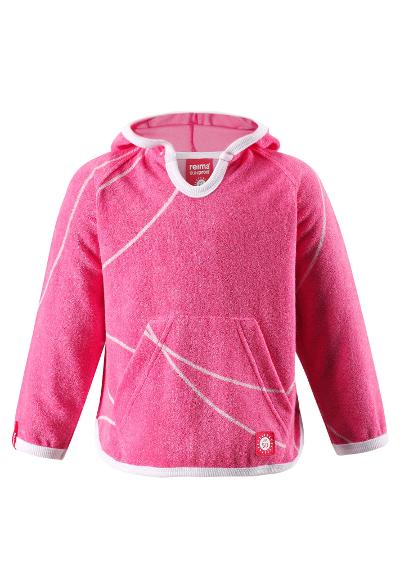 Kinder Frottee Sweatshirt Dyyni Strawberry red