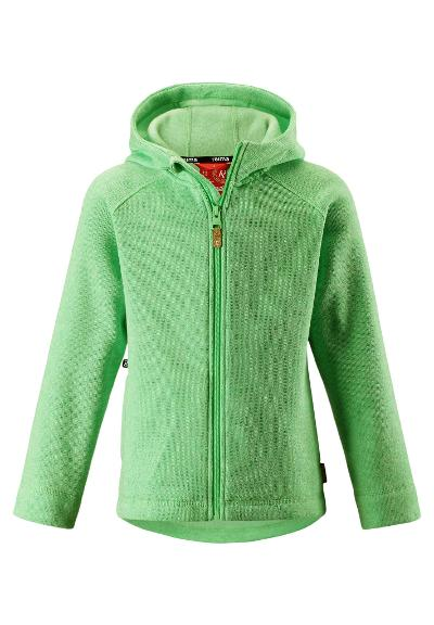 Kinder Fleecejacke Pursi Summer green