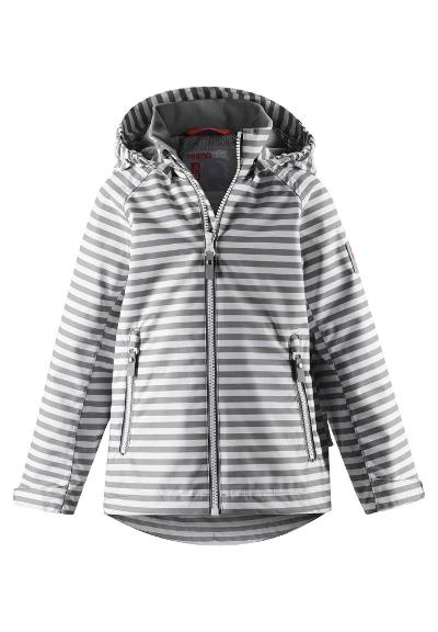 Reimatec waterproof jacket Schiff Clay grey