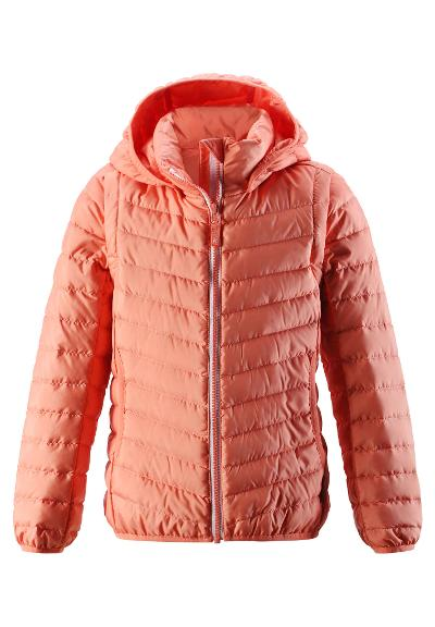 Kids' 2-in-1 light down jacket Float Coral Pink