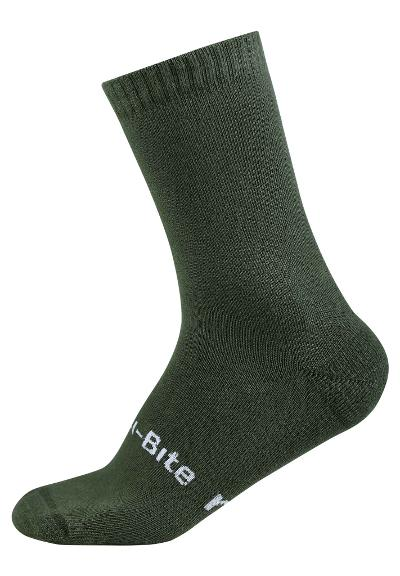 Kinder Anti-Bite Socken Insect  Dark green