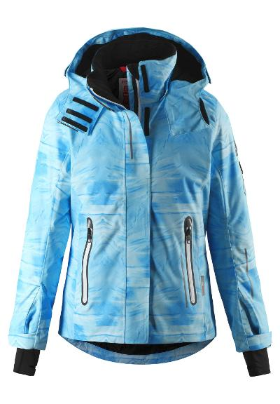 Kinder Skijacke Frost Icy blue