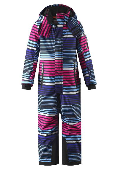 Kinder Skioverall Reach Raspberry pink