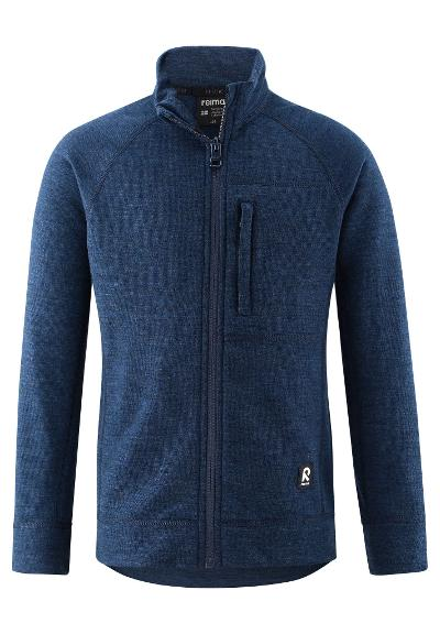 Kids' premium Merino wool sweater Hopea Raattama Navy