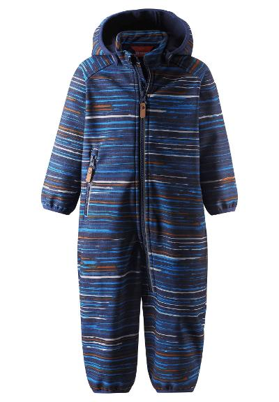 Toddlers' softshell jumpsuit Kotilo Navy