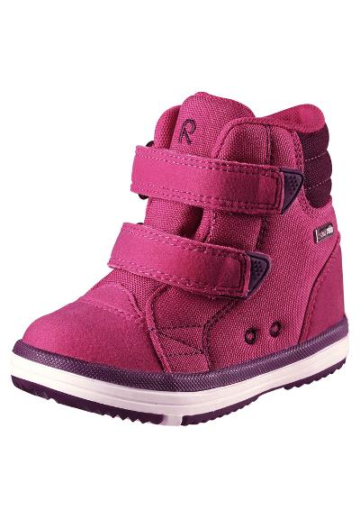 Kids' spring high-top trainers Patter Wash Cranberry pink