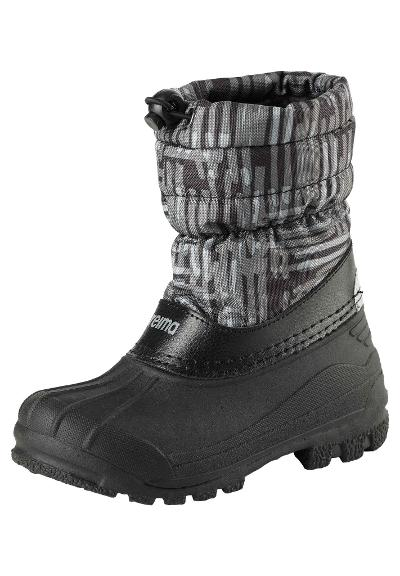 Kids' snow boots Nefar Black