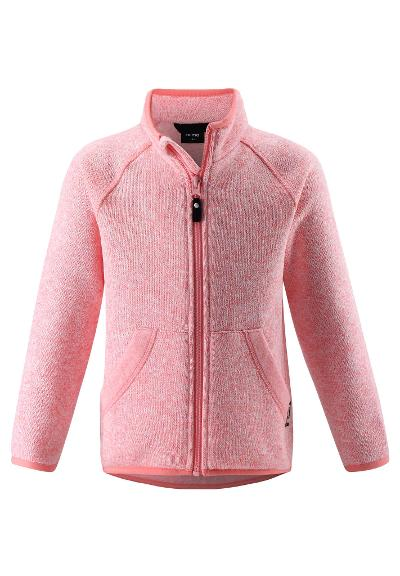 Kinder Fleecejacke Hopper Bubblegum pink