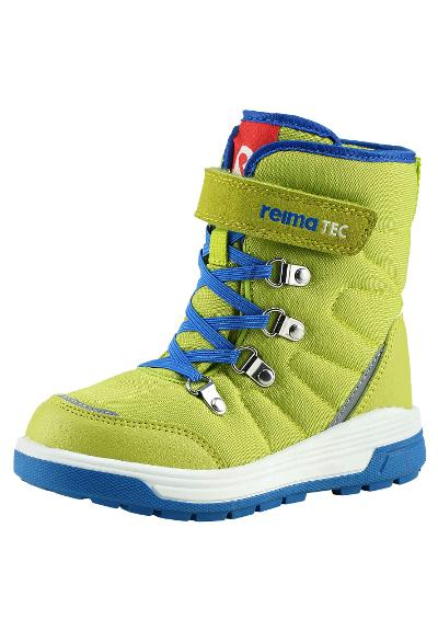 Kids' winter shoes Quicker Lime green