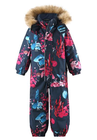 Kids' winter snowsuit Trondheim Navy