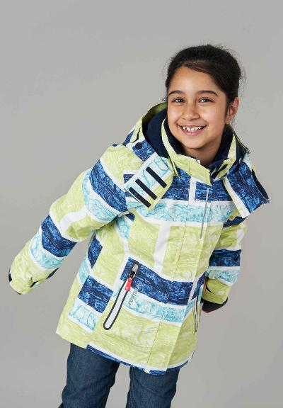Kids' winter jacket Frost AW18 Yellow