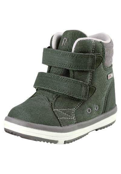 Kids' spring high-top trainers Patter Wash Soft green
