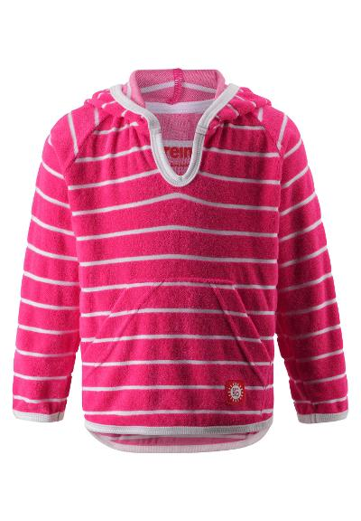 Toddlers' UV hoodie Dyyni Candy pink