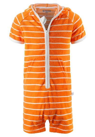 Kleinkinder Frotter-Jumpsuit Oahu  Orange
