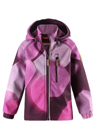 Kids' softshell jacket Vantti Deep purple