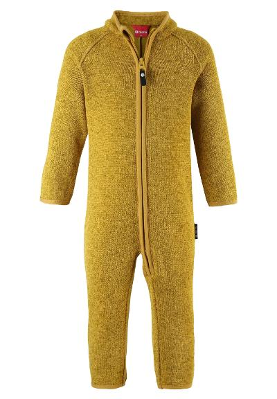 Kleinkinder Fleeceoverall Tahti Dark yellow