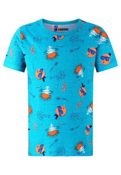 Kids' T-shirt Backas Blue sea