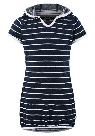 Kinder Frottee-Kleid Genua  Navy