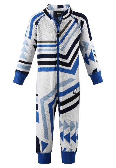 Toddlers' fleece all-in-one Myytti Marine blue