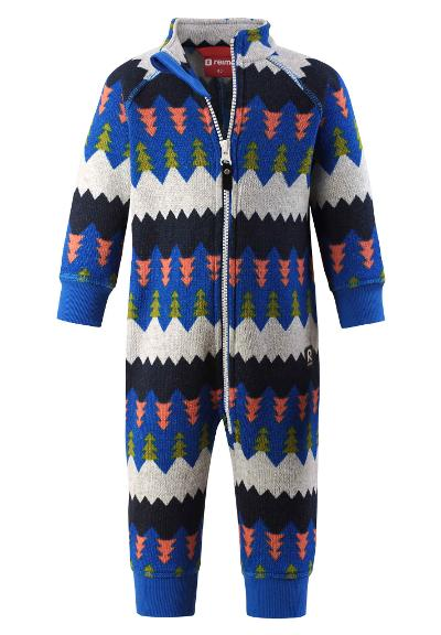 Toddlers' fleece all-in-one Myytti Brave blue