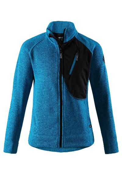 Kinder Fleecejacke Agosto Blue