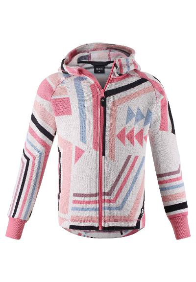 Kinder Fleecejacke Northern Bubblegum pink