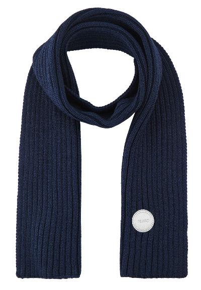 Kids' wool scarf Nuuksio Navy