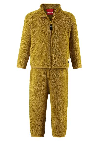 Toddlers' fleece set Tahto Dark yellow