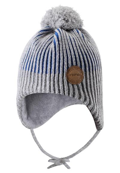 Toddlers' reflective beanie Weft Brave blue