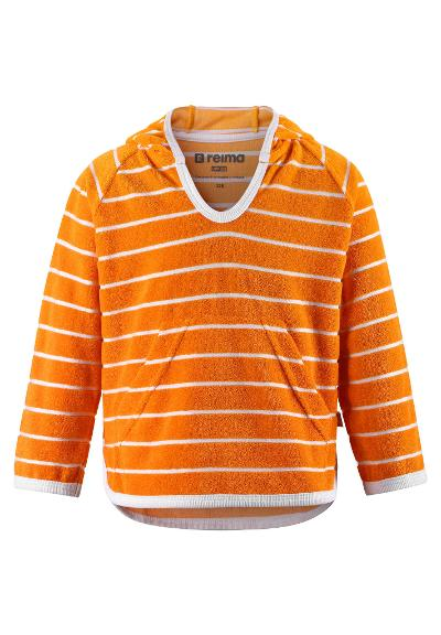 Toddlers' terry hoodie Dyyni Orange