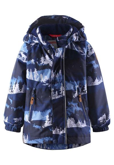 Toddlers' winter jacket Ruis Jeans blue