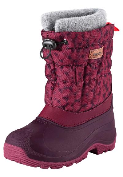 Kids' winter boots Ivalo Dark berry