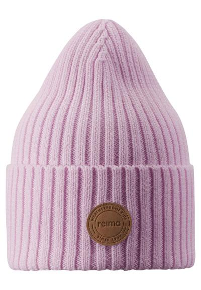 Kids' cotton beanie Hattara Light rose pink