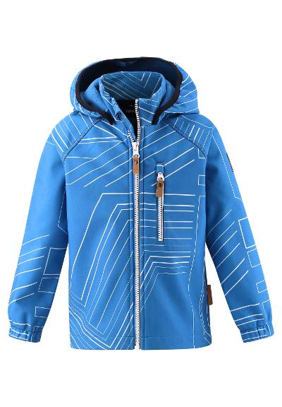 Kids' softshell jacket Vantti Marine blue