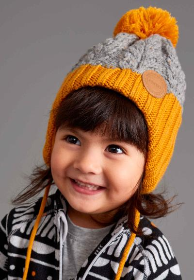 Toddlers' beanie Nahanni Vintage gold