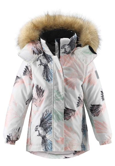 Kinder Winterjacke Kiela White