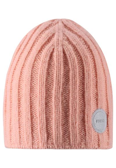 Kids' wool beanie Tuuhea Powder pink