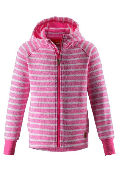 Kinder Fleecejacke Sarki Candy pink