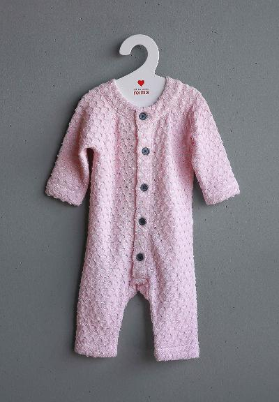 Babies' overall Helmi Pale rose