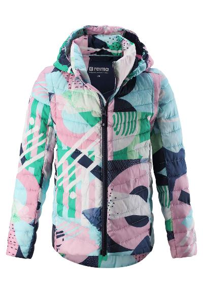 2in1 Kinderjacke Frebben Jungle green
