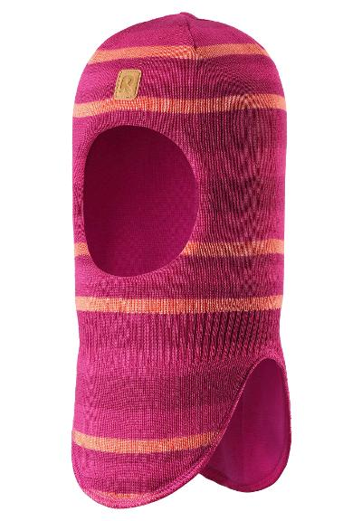 Kids' insulated balaclava Touhu Raspberry pink
