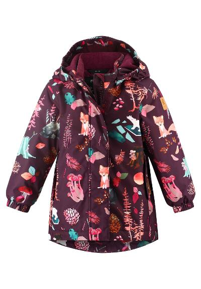 Toddlers' winter jacket Aseme Deep purple
