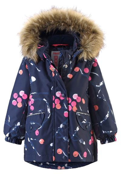Toddlers' winter jacket Mimosa Navy