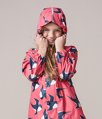 Kids' rain jacket Usva