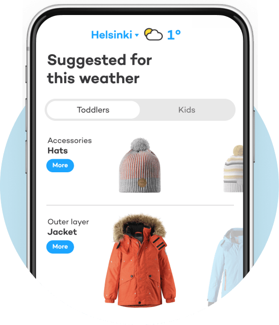 Reima Weather - When dressing up matters